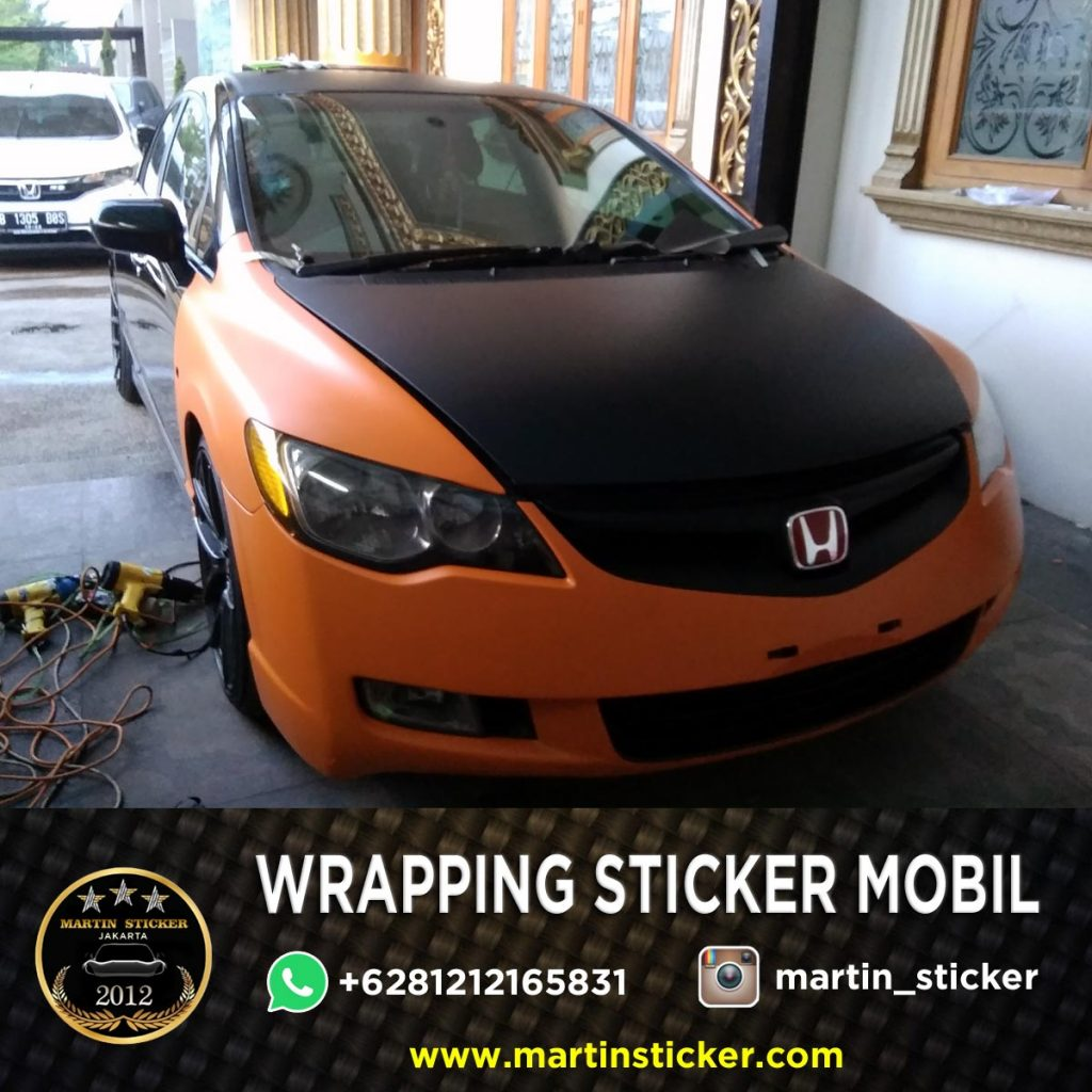 Wrapping Sticker Mobil Tangerang Selatan